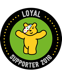 Children in Need Loyal Supporter 2016